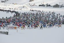 ski trcanje mas start