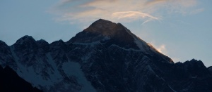 Nepalska strana  Everesta