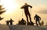 FIS world cup cross country, 4x10km men, Sjusjoen (NOR)