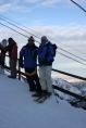 Na vrhu Chymbulaka - u pozadini se vidi Almaty, KZ