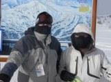 Skijanje na Sunshine Village (Alberta - Canada) gdje uvijek u djepu morate imati spremnu masku za lice. Tog dana je temparatura bila -50 C sa hladnim vjetrom.
