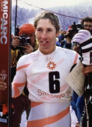Bill Johnson (USA), pobjednik u Spustu na XIV ZOI Sarajevo 1984. - Bjelasnica
