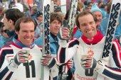 Phil i Steve Mahre (USA) na ZOI'84. 1984. Sarajevo