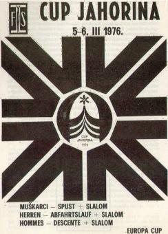 Evropa kup, Jahorina 1976.