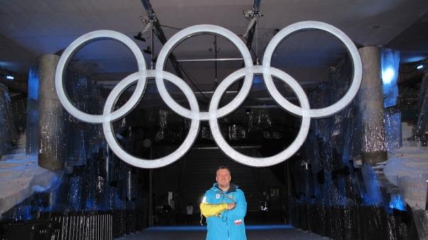 Dejan Slokar kao volonter na Zimskim Olimpijskim Igrama - Vankuver 2010. Canada