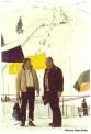 Vlatko Slokar i Dr. Miodrag Perovic na Jahorini 1983. - Predolimpijska takmicenja. Dr.Perovic je na otvaranju ZOI,84. polagao zakletvu u ime svih sudija na Igrama.