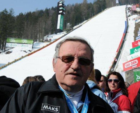 Janez Gorisek, arhitekta projektant ( sa bratom Ladom) Velikanke, letalnice na Planici (SLO), sa kojom je zapocela era letova na smuckama.
