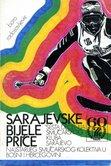 """Sarajevski smucarski klub-Naslovna strana knjige """"Sarajevske bijele price""""- Sarajevski smucarski klub (SSK)"""