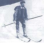 skijanje sa jednim stapom