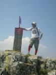 Na vrhu Trebevica 1629 m