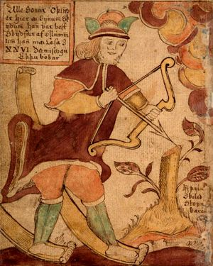 Ull - skandinavski bog smucara