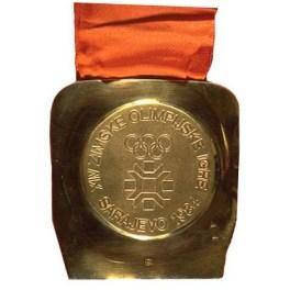 Medalja - ZOI'84. Sarajevo Jugoslavija