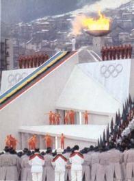 svecanost otvaranja ZOI'84.