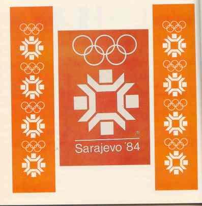 ZOI'84. Sarajevo Jugoslavija