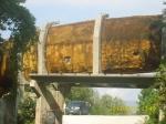 Bob i sankaska staza gradjena za takmicenja ZOI'84. Sarajevo, Jugoslavija