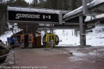 Izlazna stanica gondole na Sunshine Village