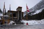 Servisni objekat na Sunshine Village skijalistu