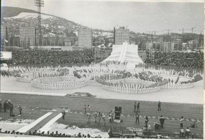 ceremonija otvaranja ZOI'84.