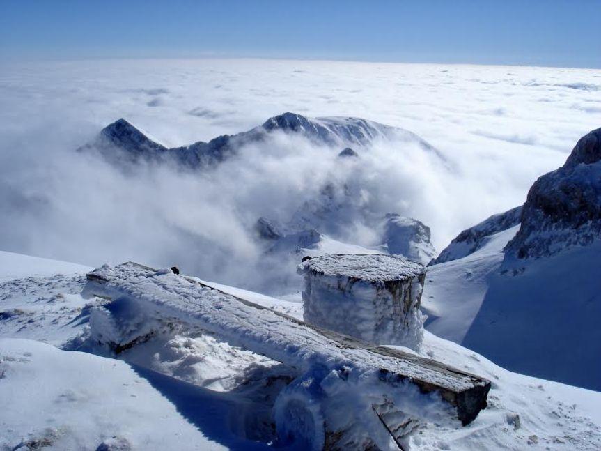 Zima na Kredarici….februar 2014.