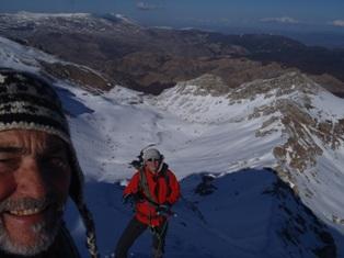 Uspon na vrh Visocice – Vito (1960 m/nv) sa Muhamedom Gaficem, februara2014.