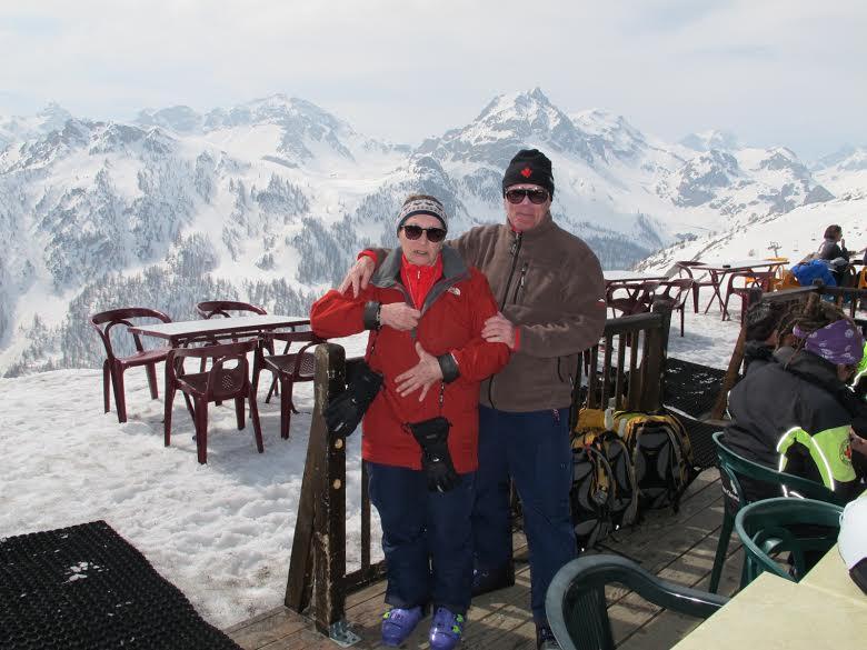 Zoran i Dragica Dorsner  na visinskim pripremama