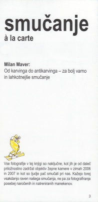 Smucanje a la carte autor Milan Maver 1