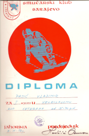 Diploma Vladimira Pajica-Paje