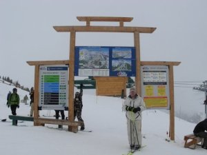 Vlatko na vrhu skijalista Lake Louise, AB