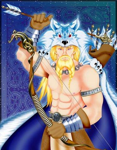 Ull - skandinavski bog svih smucara