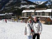 Slavica i Vlatko na skijalistu Panorama, BC