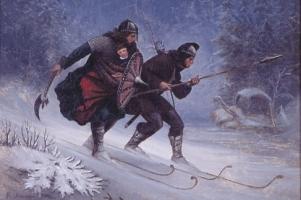 vikinzi na skijama