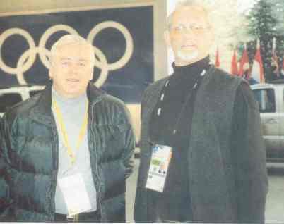 Vlatko i Dr.Pr. Ljubisa Zecevic - Zeka Zeka ZOI u Salt Lake City 2002.