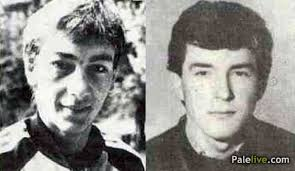Zoran Cosic i Tomo Lopatic (BiH) ucesnici ZOI'84. u Biatlonu