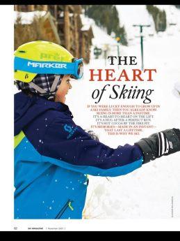 srce skijanja