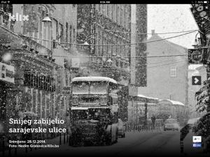 sarajevo novi snijeg
