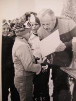 Ilja Dorsner prima pehar