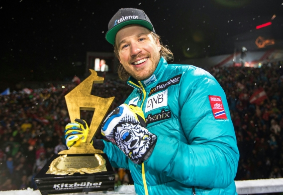 Jansrud spust