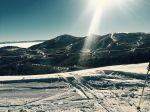 Ovo je pogled na Deer Valley iz Park City-a. Ako se sjecas tamo je bio slalom za olimpijadu 2002. Sjedili smo Ahmet, Zeko, Goreta Ti i Jaro Kalan zajedno na tribinama.