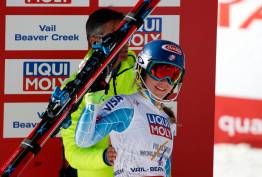 Alpine Skiing: FIS World Championships-Women's Slalom-Run 2