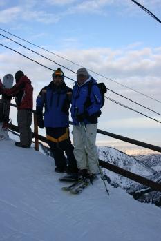 Hassan i Vlatko na vrhu Chymbulaka (KZ) 3070 m.