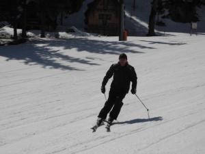 Radivoje  Granzov, nekada uspjesan takmicar u alpskim disciplinama a sada hotelijer.