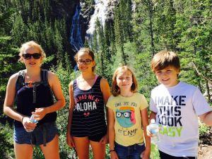 Mia, Tiana, Lara i Stefan