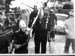 Jovica sa tatom Miodrago, istaknutim smucarskim radnikom, na Prvestvu BiH na Jahorini 1972.godine