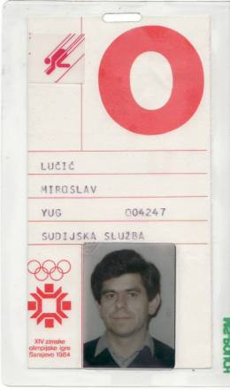 Beban za ZOI'84.