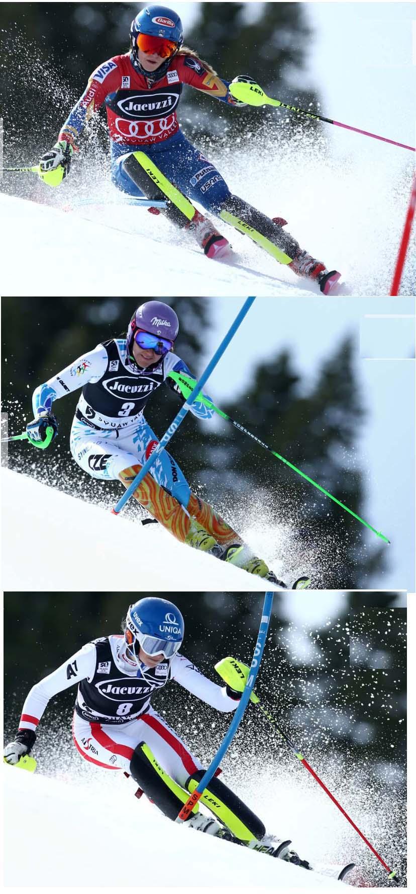slalom dame 12345