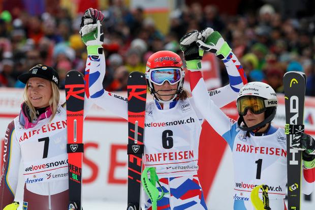 tri dame slalom arosa
