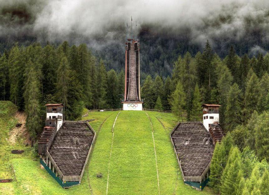 Cortina d'Ampezzo Italija ZOI 1956.