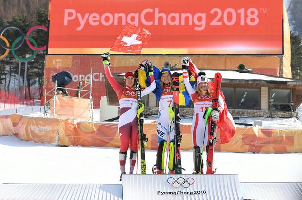 dame olimp slalom